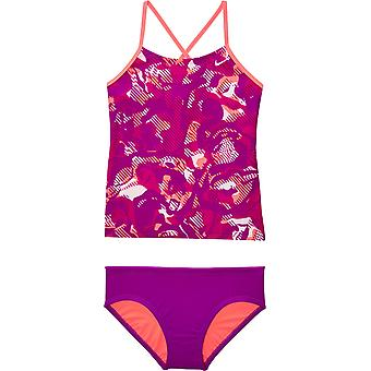 Nike Floral Crossback Tankini Swimwear For Girls