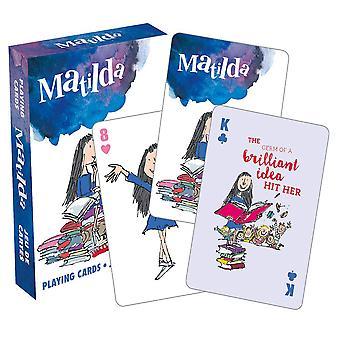 Roald Dahl Matilda spille kort