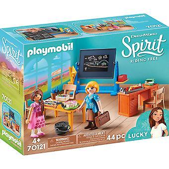 Playmobil DreamWorks Spirit 70121 Miss Flores&Klasa