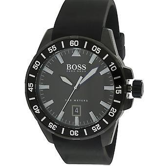 ヒューゴ ボス海深いシリコン メンズ腕時計 1513229