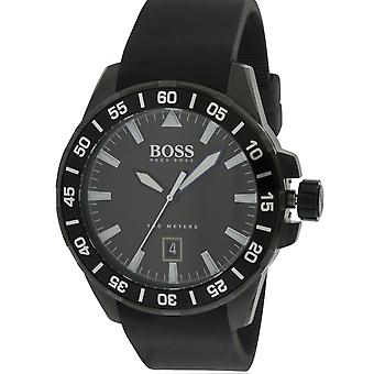 Hugo Boss Ocean Deep Silicone Mens Watch 1513229