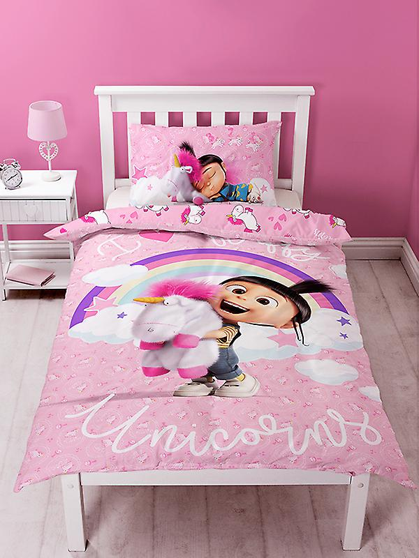 Despicable Me Daydream Fluffy Unicorn Duvet Cover Set