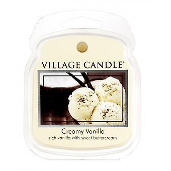 Dorf Kerze Wachs Schmelzpackungen für den Einsatz mit Melt Tart & Ölbrenner cremige Vanille