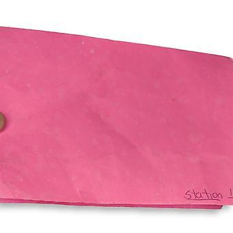 Quacker Factory Women's Petite Pants Short Knit Corduroy Pull-On Red A270900