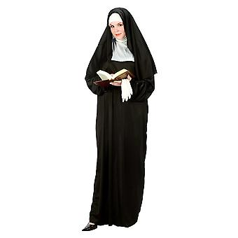 Mother Superior Nun Sister Religious Habit Dress Up Womens Costume Plus Size