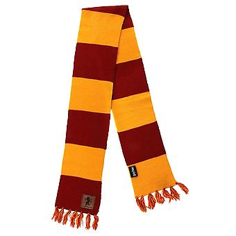 Harry Potter Gryffindor Patch Écharpe rayée