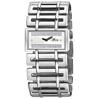 Lotus cool Quartz Analog Woman Watch with 15434/1 Stainless Steel Bracelet