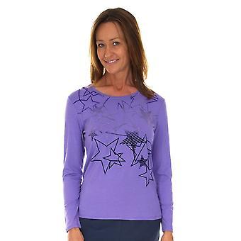 LEBEK Lebek T-shirts 35270019 Indigo of Lilac