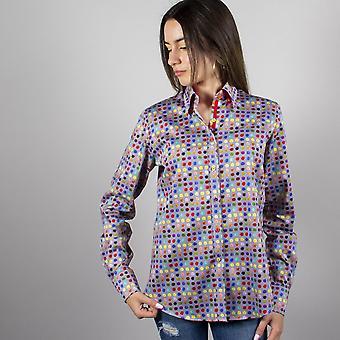 CLAUDIO LUGLI Polka Dot Ladies Shirt