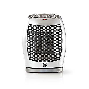 Nedis Ceramic Fan Heater | 750 & 1500 W | Grey
