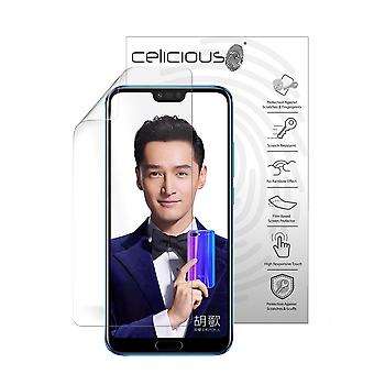 Celicious Vivid Plus Mild Anti-Glare Screen Protector Film Compatible with Honor 10 [Pack of 2]