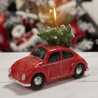 Widdop Gifts Red Christmas Car Candle | Gifts From Handpicked