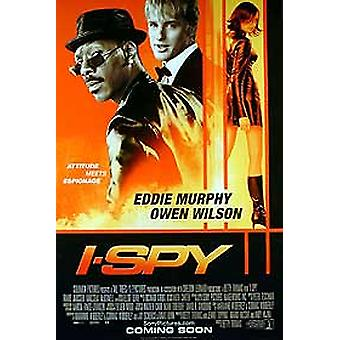 Jag spion (dubbelsidig regelbunden) (UV-belagd) original Cinema affisch