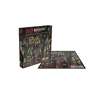 Slayer Jigsaw Puzzle Reign In Blood Album new Official 500 Piece