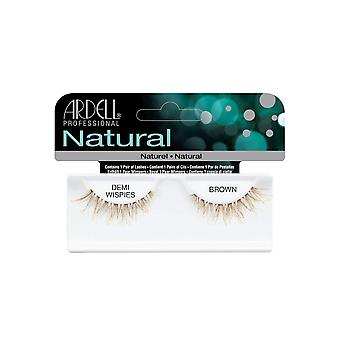 Ardell Natural Demi Wispies Brown Easy To Apply Full False Eye Lashes