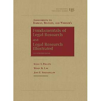 Assignments to Barkan - Bintliff and Whisner's Fundamentals of Legal