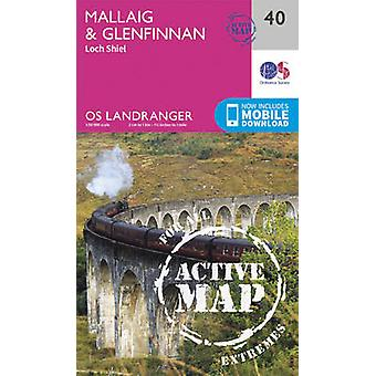 Mallaig & Glenfinnan - Loch Shiel by Ordnance Survey - 9780319473634