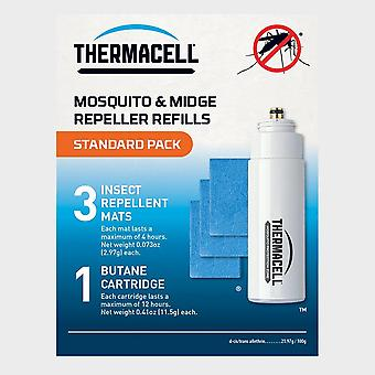 New Thermacell Repellent Refills Standard Pack Blue