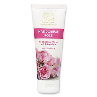 Hand cream Rose Diana with sheep's milk without palm oil 75 ml