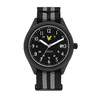 Lyle & Scott LS-6006-03 Men's Stealth Black Nato Wristwatch