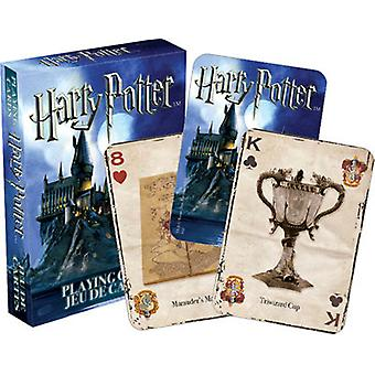 Speelkaart-Harry Potter-symbolen speelgoed Poker gelicentieerd 52330