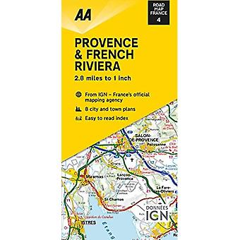 Road Map Provence  French Riviera