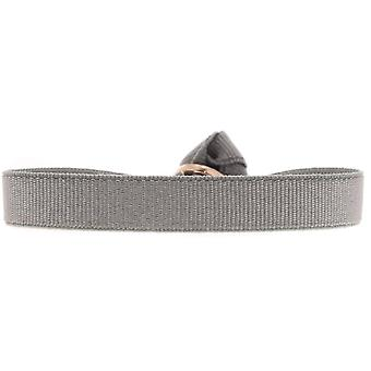 Les verwisselbare armband A46654-lint 9mm bruin ijs duidelijk vrouwen