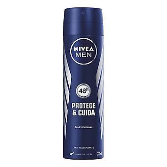 Spray Deodorant Men Protege & Cuida Nivea (200 ml)