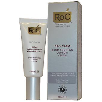 RoC Pro Calm Feverfew Extra Soothing Comfort Cream Pro-Calm 40ml Calms Sensitive, Dry Skin