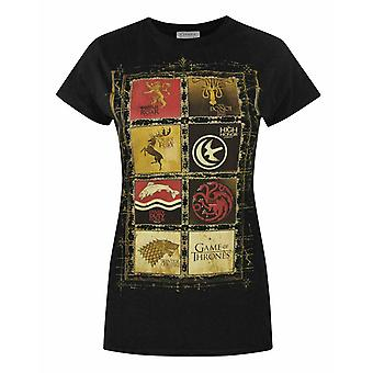 Game Of Thrones Block Sigils Women's T-Shirt