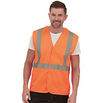 Yoko Hombres Ferrocarril Reflectante Clase 2 High Vis Chaleco