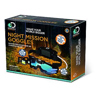 Discovery Adventures Night Mission Goggles For Children Ages 8 Years+
