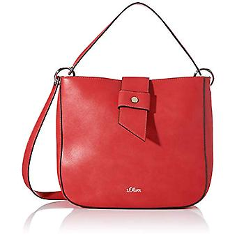 s.Oliver Handtasche Rote Frau (Rot (rot 3490)) 10x25x26.5 cm (B x H x T)