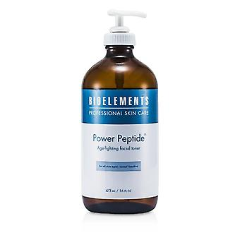 Bioelements Power Peptide - Age-Fighting Facial Toner (Salon Size, For All Skin Types, Except Sensitive) 473ml/16oz