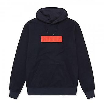 NICCE Nicce Axel Navy Hoody Sweatshirt