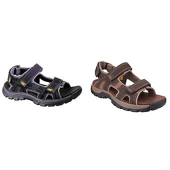Cat Lifestyle Mens Giles Leather Sandal