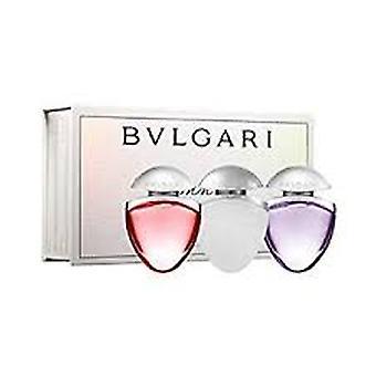 Bvlgari Omnia Juwelen Charms Fragrance Gift Set 15ml Crystalline EDT + 15ml Coral EDT + 15ml Pink Sapphire EDT