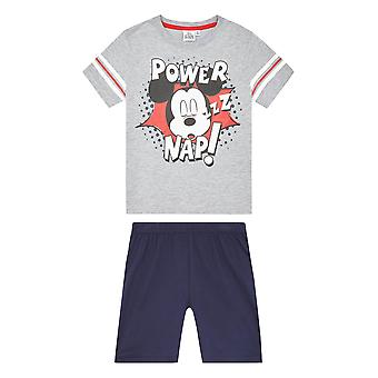 Disney mickey boys short sleeve pyjama