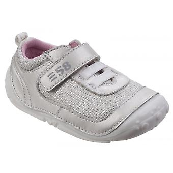 Hush Puppies Livvy Girls Casual Shoes Silver