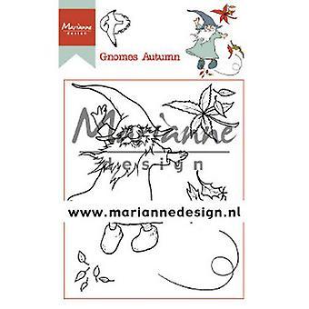 Marianne Design Clear Stamp Hetty's Gnomes autumn HT1647 15,5 x 10,5 cm
