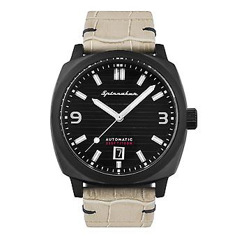 Spinnaker SP-5073-03 Gent's Hull Black Dial Wristwatch