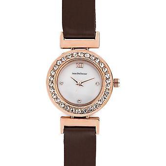 Jean Bellecour REDL2 Watch - Women's Satin Rose Gold Watch