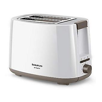 Broodrooster Taurus My Toast II 750W Wit