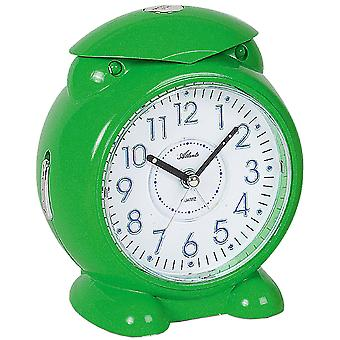 Атланта 1985/6 будильник для детей кварцевые аналоговые дети будильник зеленый светом