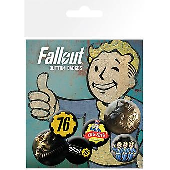 Fallout 76 Pin Button Badges Set