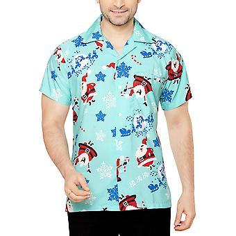 Club cubana men's regular fit classic short sleeve casual shirt ccx29