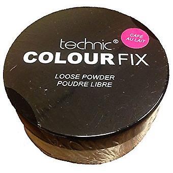 Technic Colour Fix Loose Powder- Cafe Au Lait
