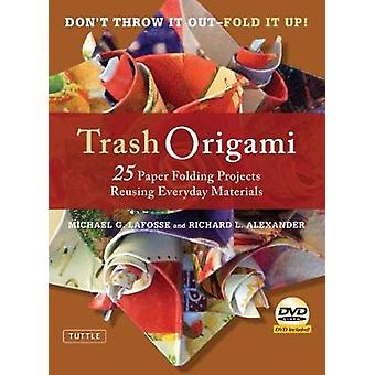 Trash Origami - 25 Paper Folding Projects Reusing Everyday Materials b