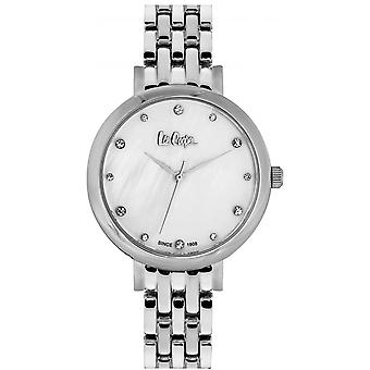 Shows Lee Cooper-LC06475-330 - steel Silver Dial white woman