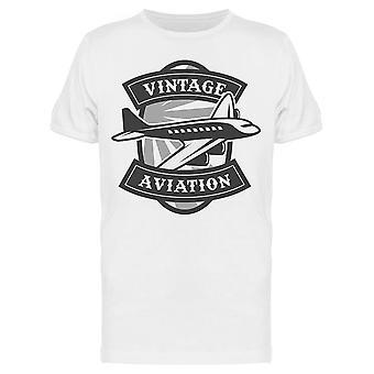 Vintage Aviation Siviili-Kone Tee Men's -Kuva Shutterstock